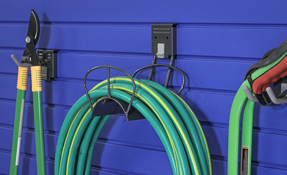 Slatwall Hose Holder
